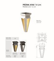 Prizma Ayak 14 cm