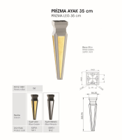 Prizma Ayak 35 cm