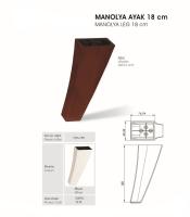 Manolya Ayak 18 cm