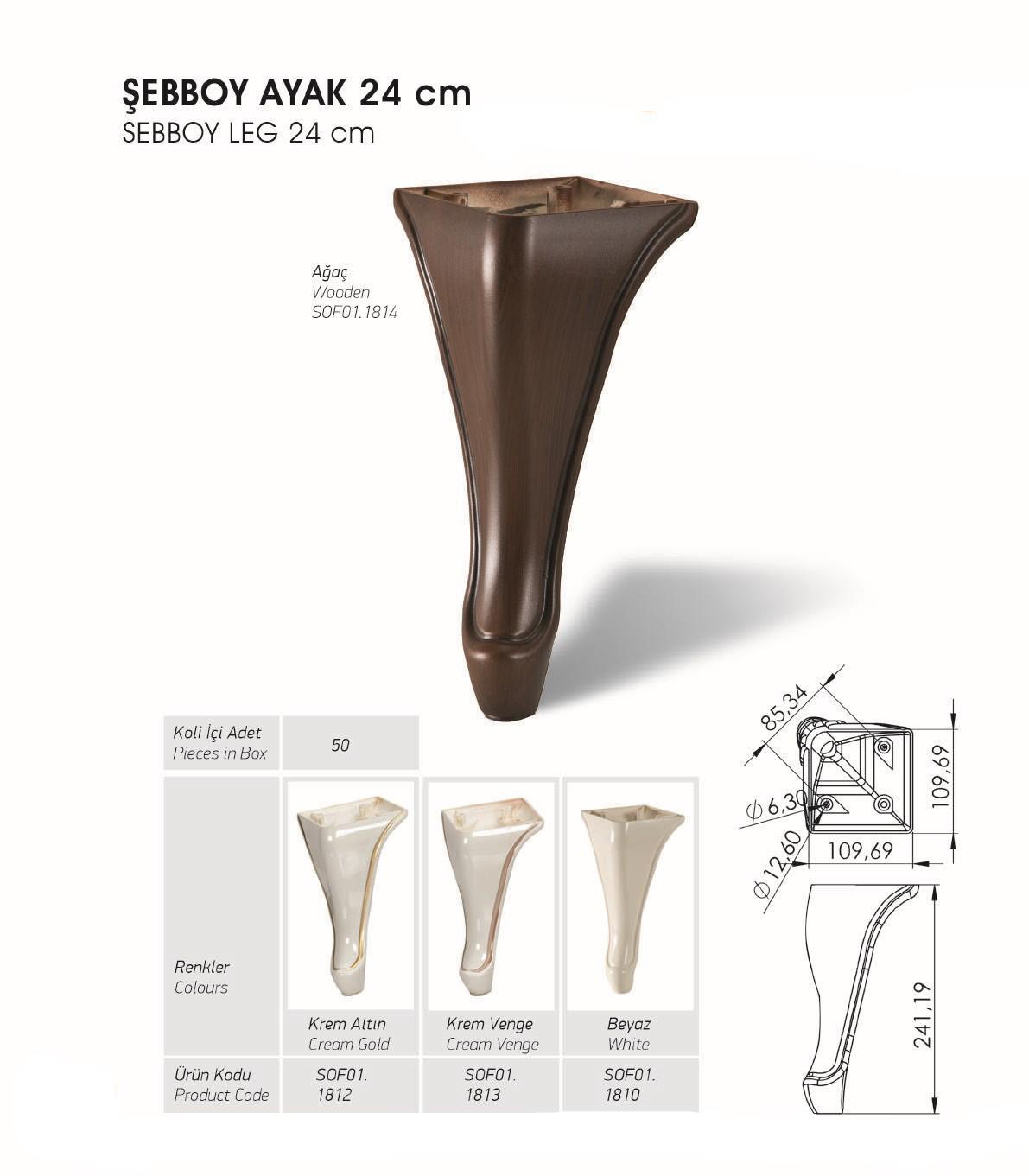Sebboy Ayak 24 cm